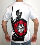 OBEY RIOT COP PEACE SHIELD TEE