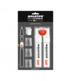 molotow refill extension starter kit 611EM