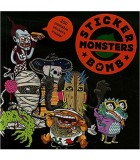 LIVRE STICKER BOMB MONSTERS