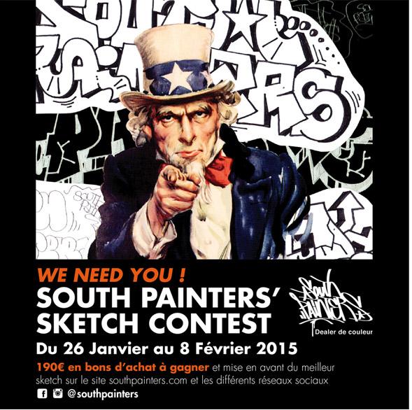 visuel concours South-Painters